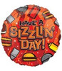 "18"" Have a Sizzling Day Father's Day Mylar Foil Balloon"