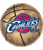 "18"" NBA Cleaveland Cavaliers Basketball Mylar Foil Balloon"