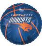 """18"""" NBA Charlotte Bobcats Basketball Mylar Foil Balloon."""