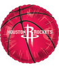 "18"" NBA Houston Rockets Basketball Mylar Foil Balloon."