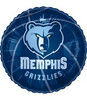 "18"" NBA Memphis Grizzlies Basketball Mylar Foil Balloon."