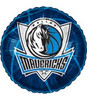 "18"" NBA Dallas Mavericks Basketball Mylar Foil Balloon."