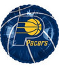 "18"" NBA Indiana Pacers Basketball Mylar Foil Balloon."