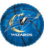 "18"" NBA Washington Wizards Basketball Mylar Foil Balloon."