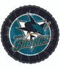 "18"" NHL San Jose Sharks Hockey Mylar Foil Balloon"