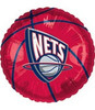 "18"" NBA New Jersey Nets Basketball Mylar Foil Balloon."