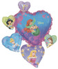"34"" Princess Group Connext Shape Mylar Foil Balloon"