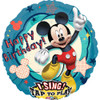 "28"" Singing Mickey Clubhouse Birthday   Mylar Foil Balloon"