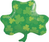 "25"" Shamrock Patterns Shape Mylar Foil Balloon"