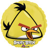 "18"" Angry Birds Yellow Bird   Mylar Foil Balloon"