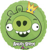 "18"" Angry Birds King Pig   Mylar Foil Balloon"