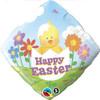 "18"" Easter Baby Chick   Mylar Foil Balloon"