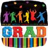 "18"" Grad Well Done   Mylar Foil Balloon"