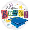 """18"""" Grad Notes Congrats   Mylar Foil Balloon"""