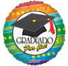 "18"" Graduado Por Fin   Mylar Foil Balloon"
