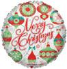 """18"""" Christmas Ornaments   Mylar Foil Balloon"""