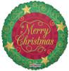 "18"" Christmas Stars Mylar Foil Balloon"