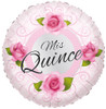 "18"" Mis Quince Roses   Mylar Foil Balloon"