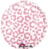 """18"""" Cheetah Pink   Mylar Foil Balloon"""