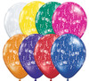 "11"" Get Well-A-Round Jewel Assortment Latex Balloons"