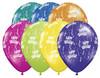 "16"" Birthday-A-Round Fantasy Assortment Latex Balloons"
