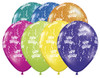 "11"" Birthday-A-Round Fantasy Assortment Latex Balloons"