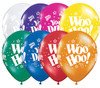 "11"" Woo Hoo!  You DId It! Jewel Assortment Latex Balloons"