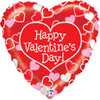 "21"" Mighty Red Heart Valentine Balloon"