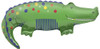 "36"" Crocodile Shape Mylar Foil Balloon"