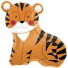 "33"" Tiger Shape Mylar Foil Balloon"