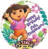 "28"" Singing Dora Cumpleanos  Mylar Foil Balloon"