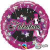 "18"" Fabulous  Mylar Foil Balloon"
