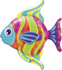 "43"" Fashionable Fish Shape Mylar Foil Balloon"