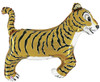 "41"" Tiger  Shape Mylar Foil Balloon"