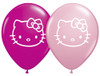 "5"" Hello Kitty Face Assortment  Latex Balloons"