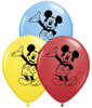 "5"" Mickey Mouse Assortment  Latex Balloons"
