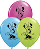 "5"" Minnie Mouse Assortment  Latex Balloons"