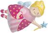 """36"""" Fairy Princess Shape Mylar Foil Balloon"""