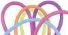 260Q Neon Assortment Latex Balloons - Bag of 100