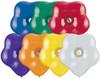 "6"" Geo Blossom Jewel Assortment Latex Balloons - Bag of 100"