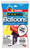 "11"" Onyx Black  Latex Balloons - 8 Count Bag"