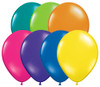 "Round 11"" Fantasy Jewel Assortment Latex Balloons - Bag of 100"