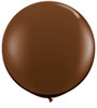 "Round 36"" Fashion Chocolate  Latex Balloons"