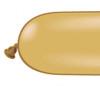 646Q Gold  Latex Balloons