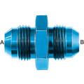 Flare Union (AN815) - Aluminum Blue Anodized