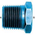 Pipe Bushing (AN 912) - Aluminum Blue Anodized
