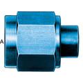 Cap  (AN 929) - Aluminum Blue Anodized