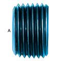 Allen Head Pipe Plug  (AN 932) - Aluminum Blue Anodized