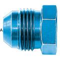 Flare Plug (AN 806) - Aluminum Blue Anodized