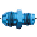 AN Flare to Metric Adapters - Aluminum Blue Anodized